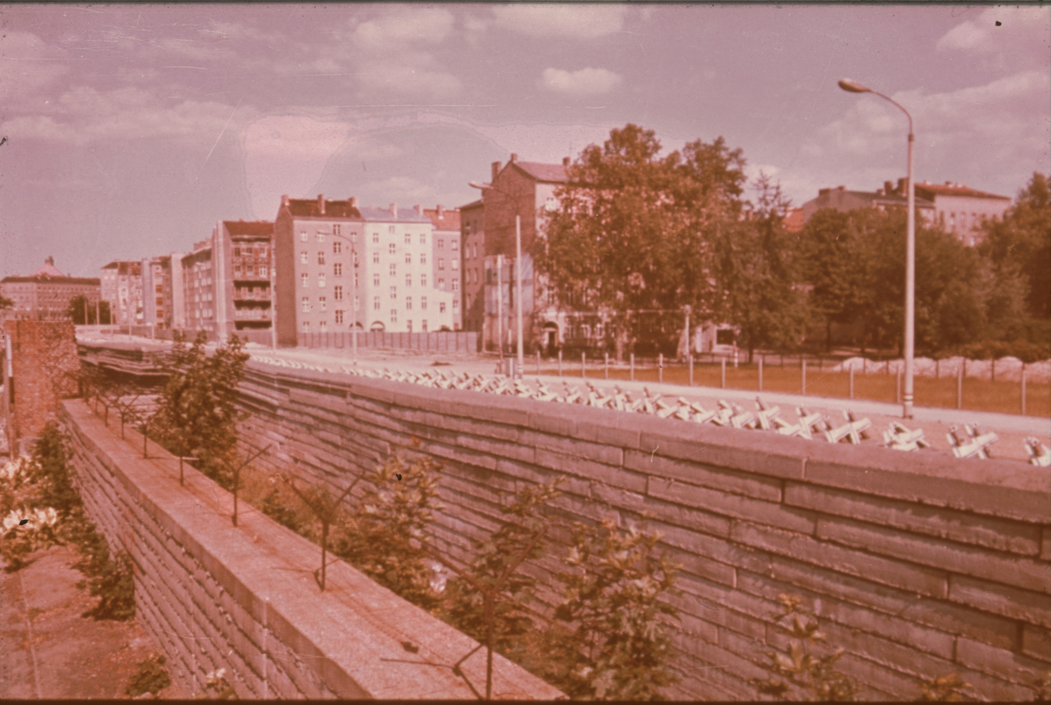 Die Berliner Mauer um 1973 - Berlin Wall - Daniel Rohde-Kage 49