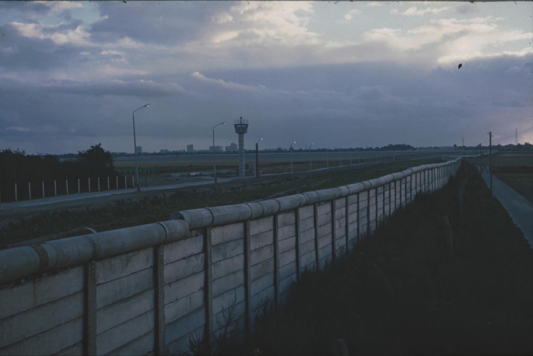 Die Berliner Mauer um 1973 - Berlin Wall - Daniel Rohde-Kage 56