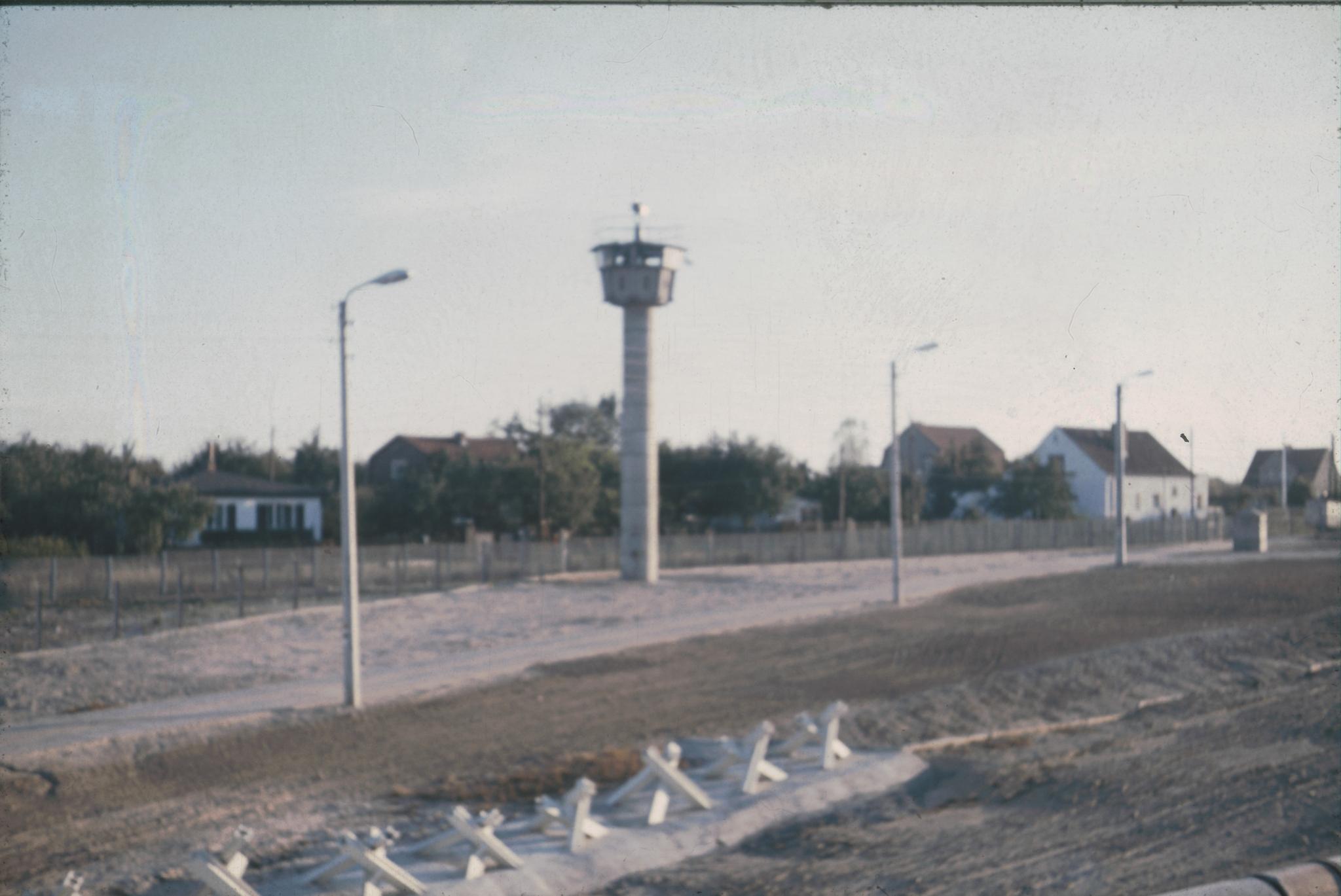 Die Berliner Mauer um 1973 - Berlin Wall - Daniel Rohde-Kage 58